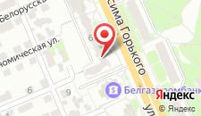 Апартаменты На Горького 62 на карте