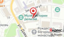 Апартаменты На Замковой 12 на карте