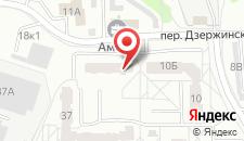 Апартаменты На Дзержинского 12 на карте