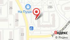 Апартаменты Пушкина на карте