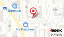 Апартаменты На улице Пушкина на карте