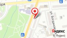 Апартаменты На Дзержинского на карте