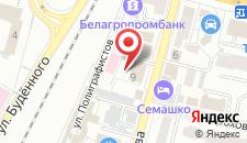 Отель Семашко на карте
