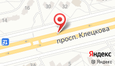 Апартаменты На Клецкова на карте