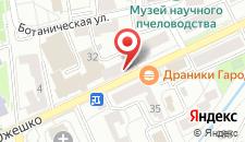 Апартаменты На Элизы Ожешко на карте