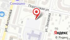 Апартаменты Maxhouse на Захарова на карте