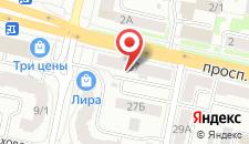 Апартаменты Пороховая на карте