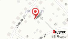 Коттедж В Лапенках на карте