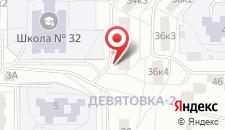 Апартаменты Курчатова 34/4 на карте