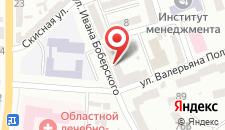 Отель Нота Бене на карте