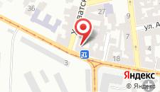 Отель Под Святым Духом на карте