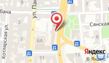 Отель Львов на карте