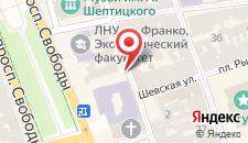 Отель Леополис на карте