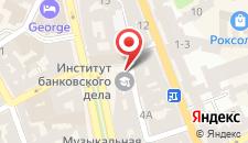 Отель Швейцарский на карте