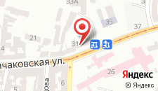 Хостел Легенда Львова на карте