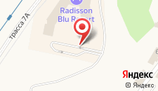 Курортный отель Radisson Blu Resort Bukovel на карте