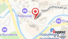Отель Довбушанка на карте