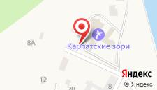 Клуб-отель Яремче на карте