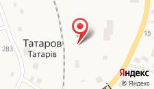 Мини-отель Коруна на карте