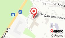 Отель Свитязь на карте