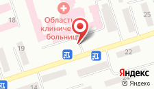Гостиница Кедем на карте