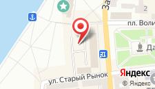 Отель Тернополь на карте