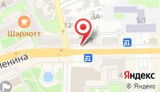 Апартаменты На площади Ленина 1 на карте