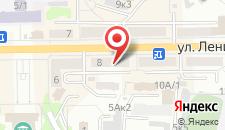Апартаменты на Ленина 8а на карте