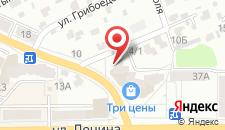 Апартаменты Брестская на карте