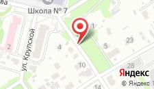 Апартаменты На Свердлова 10 на карте