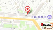 Апартаменты На Ленина 51 на карте