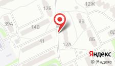 Апартаменты С. Дали на карте