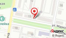 Апартаменты Two-bedroom на карте