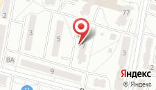 Апартаменты На Ясинского на карте