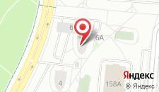 Апартаменты на Неманской улице на карте