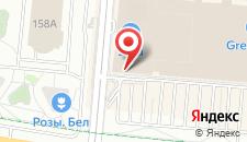 Отель Green City на карте