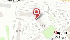 Апартаменты на Притыцкого 105 на карте