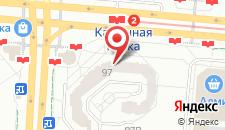 Апартаменты На Притыцкого 97 на карте