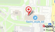Гостиница Вояж на карте