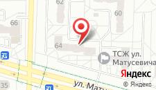 Апартаменты На Матюшевича на карте