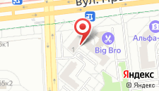 Апартаменты На улице Ефросиньи Полоцкой на карте