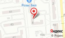 Апартаменты На Бельского на карте