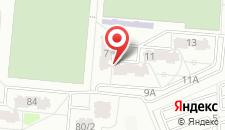 Апартаменты На Радужной на карте