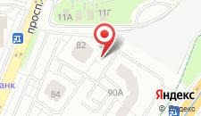 Апартаменты Апартаменты на Дзержинского на карте