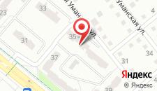 Апартаменты Гурского 35 на карте