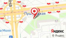 Апартаменты На Пушкинской на карте