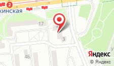 Апартаменты на улице Притыцкого на карте