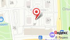 Апартаменты Притыцкого 2к1 на карте