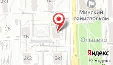 Апартаменты Эль Гуливер на Ольшевского на карте