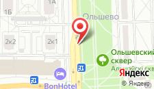 Апартаменты на Ольшевского на карте